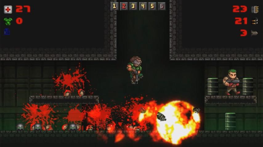 MiniDOOM - a tiny game! - Calavera Studio