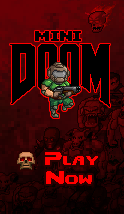 Play MiniDOOM now!